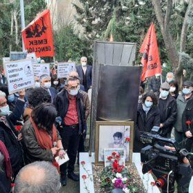 Gazeteci Metin Göktepe, katledilişinin  25. yılında mezarı başında anıldı